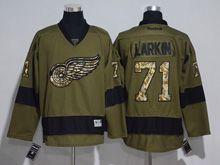 Mens Reebok Nhl Detroit Red Wings #71 Dylan Larkin Green Jersey