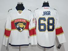 Mens Reebok Nhl Florida Panthers #68 Jaromir Jagr White 2016 Jersey