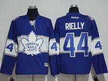 Mens Reebok Nhl Toronto Maple Leafs #44 Morgan Rielly Blue 2017 Centennial Classic Jersey