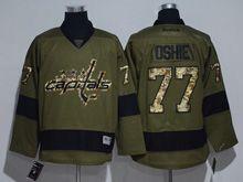 Mens Reebok Nhl Washington Capitals #77 Tj Oshie Green Jersey