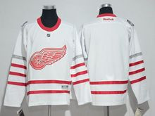 Mens Reebok Nhl Detroit Red Wings Blank White 2017 Centennial Classic Jersey