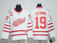 Mens Reebok Nhl Detroit Red Wings #19 Steve Yzerman White 2017 Centennial Classic Jersey
