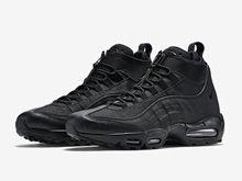 Mens Air Max 95 Sneaker Boot Running Shoes Color Black