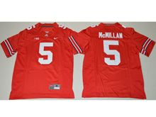 Youth Ncaa Nfl Ohio State Buckeyes #5 Raekwon Mcmillan Red Jersey