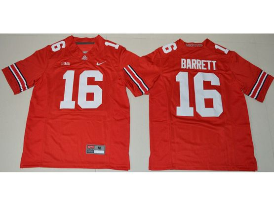 Youth Ncaa Nfl Ohio State Buckeyes #16 Jt Barrett Red Jersey