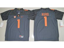 Youth Ncaa Nfl Tennessee Volunteers #1 Jalen Hurd Black Limited Jersey