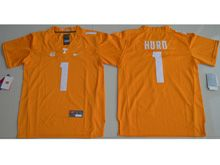 Youth Ncaa Nfl Tennessee Volunteers #1 Jalen Hurd Orange Limited Jersey