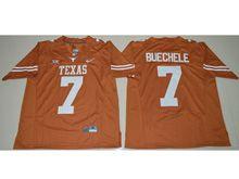 Mens Ncaa Nfl Texas Longhorns #7 Shane Buechele Orange Limited Jersey