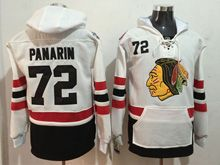 Mens Reebok Nhl Chicago Blackhawks #72 Artemi Panarin White Hoodie