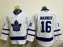 Youth Reebok Nhl Toronto Maple Leafs #16 Mitchell Marner White Jersey