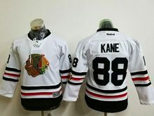 Youth Reebok Nhl Chicago Blackhawks #88 Patrick Kane White 2017 Winter Classic Jersey