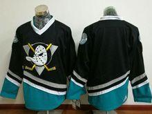 Mens Ccm Nhl Anaheim Mighty Ducks (blank) Black Vintage Jersey