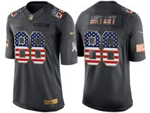 Mens   Dallas Cowboys #88 Dez Bryant Green Usa Flag 2016 Salute To Service Jersey