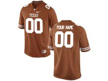Mens Ncaa Nfl Texas Longhorns (custom Made) Orange Limited Jersey