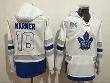Mens Reebok Nhl Toronto Maple Leafs #16 Mitchell Marner White Hoodie