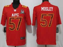 Mens Nfl Baltimore Ravens #57 C. J. Mosley Red (2017 Pro Bowl) Limited Jersey