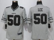 Mens Nfl Dallas Cowboys #50 Sean Lee Gridiron Gray Ii Limited Jersey