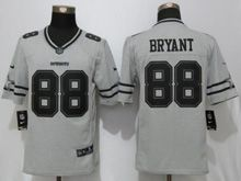 Mens Nfl Dallas Cowboys #88 Dez Bryant Gridiron Gray Ii Limited Jersey
