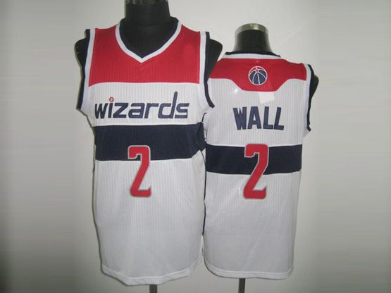 Mens Nba Washington Wizards #2 John Wall White Revolution 30 Mesh Jersey