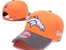 Denver Broncos Orange Snapback Hats