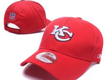 Kansas City Chiefs Red Snapback Hats