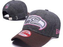 Seattle Seahawks Gray Fashion Snapback Hats