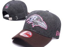 Baltimore Ravens Gray Fashion Snapback Hats