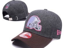Cleveland Browns Gray Fashion Snapback Hats