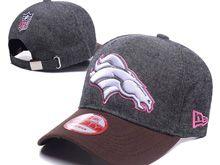 Denver Broncos Gray Fashion Snapback Hats