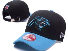 Carolina Panthers Black Snapback Hats