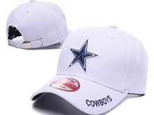 Dallas Cowboys White Cowboys Snapback Hats