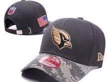 Arizona Cardinals Green Salute To Service Snapback Hats