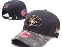 San Francisco 49ers Green Salute To Service Snapback Hats