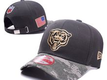 Jacksonville Jaguars Green Salute To Service Snapback Hats