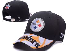 Pittsburgh Steelers Black Snapback Hats