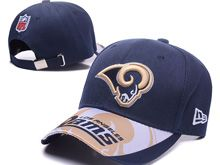 Los Angeles Rams Blue Snapback Hats