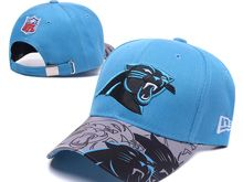 Carolina Panthers Blue Snapback Hats (1)