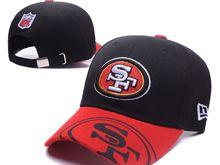 San Francisco 49ers Black Snapback Hats