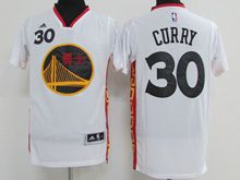 Mens Adidas Golden State Warriors #30 Stephen Curry White 2017 Chinese New Year Swingman Jersey