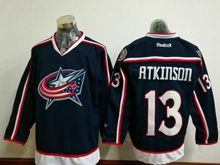 Mens Reebok Nhl Columbus Blue Jackets #13 Cam Atkinson Blue Home Premier Jersey