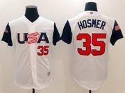 Mens Mlb Usa Team 2017 Baseball World Cup #35 Hosmer White  Jersey