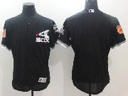 Mens Majestic Chicago White Sox Black 2017 Spring Training Flex Base Jersey