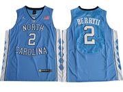 Mens Ncaa Nba North Carolina Tar Heels #2 Joel Berry Ii Blue College Basketball Jersey