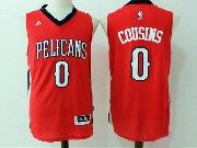 Mens Nba New Orleans Pelicans #0 Demarcus Cousins Red Basketball Jerseys