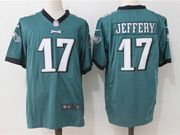 Mens Nfl Philadelphia Eagles #17 Alshon Jeffery Green Game Jersey