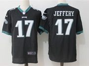 Mens Nfl Philadelphia Eagles #17 Alshon Jeffery Black Game Jersey
