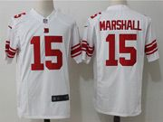 Mens Nfl New York Giants #15 Brandon Marshall White Game Jersey