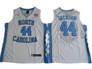 Mens Ncaa Nba North Carolina #44 Justin Jackson 2017 Tar Heels College Basketball White Jersey