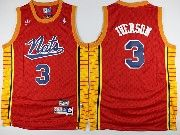 Mens Nba Philadelphia 76ers #3 Allen Iverson Nats Red Basketball Jersey