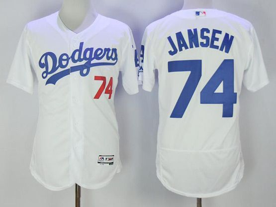 fcd98ebe8 ... switzerland mlb cool base mens majestic los angeles dodgers 74 kenley  jansen white flex base baseball
